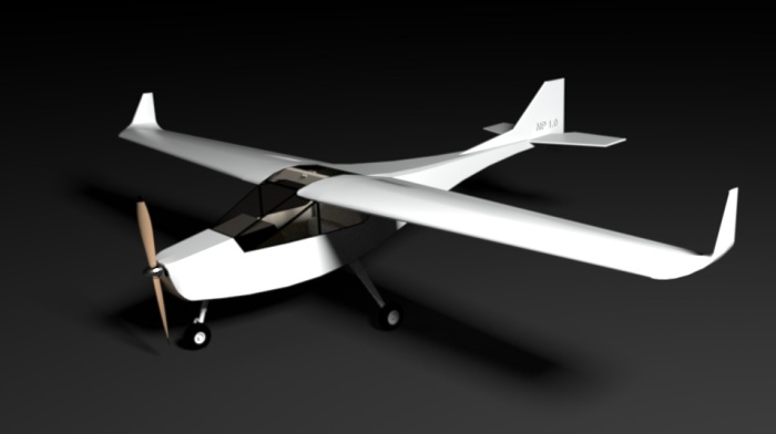 3D OpenSource Plane Render