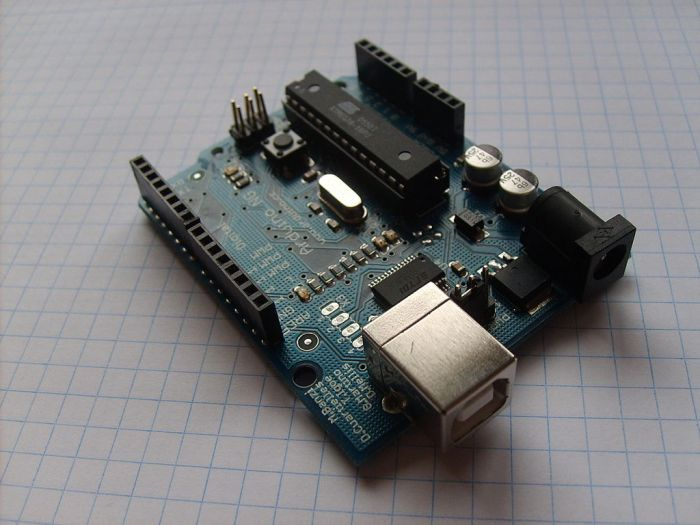 Arduino open-source microcontrollers arevery popular with the Maker community.Photo Credit: DustyDingo