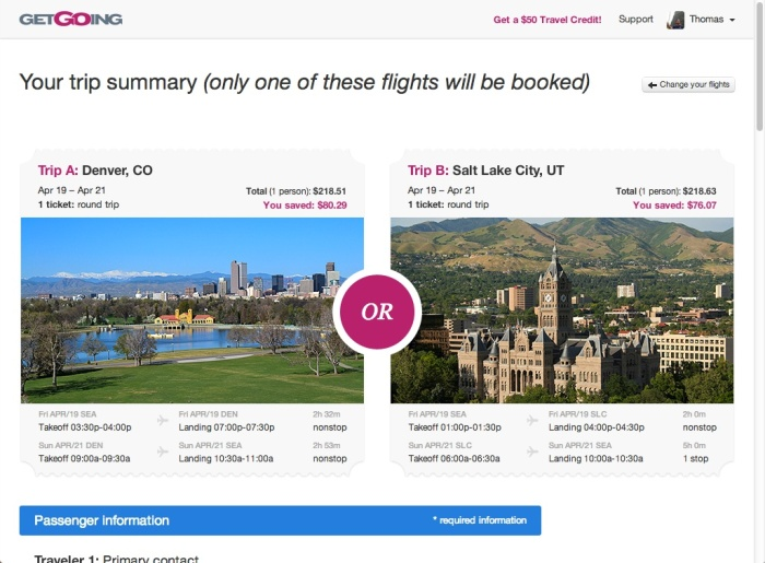 GetGoing offers a new Twist on Opaque Booking